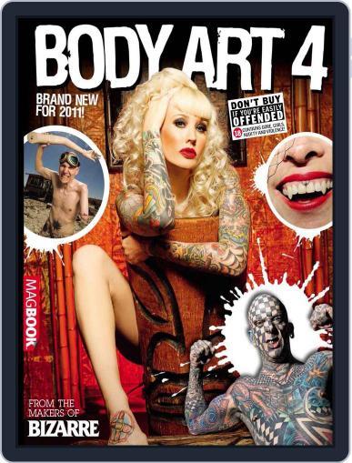 Bizarre Body Art 4 Magazine (Digital) April 14th, 2011 Issue Cover