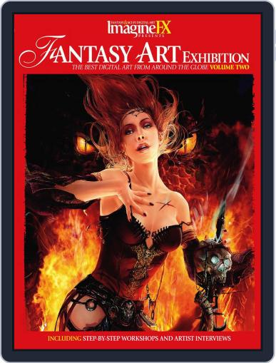Fantasy Art Exhibition: Volume 2 February 16th, 2011 Digital Back Issue Cover