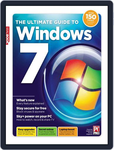 The Ultimate Guide to Windows 7 April 1st, 2011 Digital Back Issue Cover