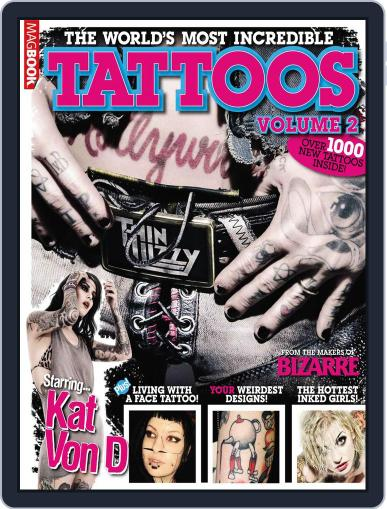 The World's Most Incredible Tattoos 2nd edition April 13th, 2011 Digital Back Issue Cover