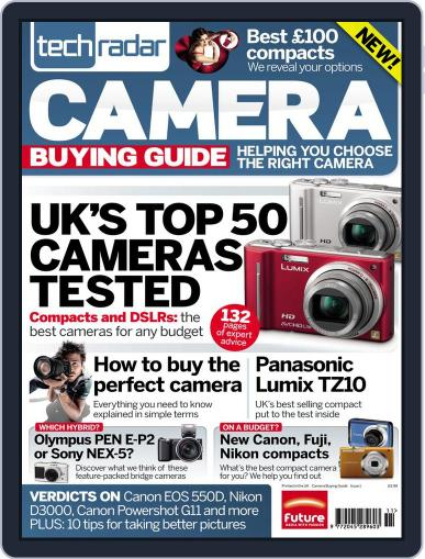 The TechRadar Camera Buying Guide Magazine (Digital) March 28th, 2011 Issue Cover