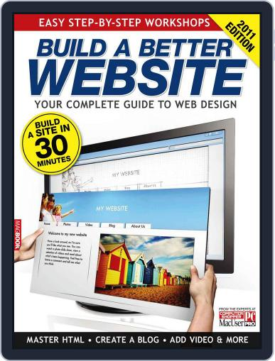 Build a Better Website 2011 May 20th, 2011 Digital Back Issue Cover