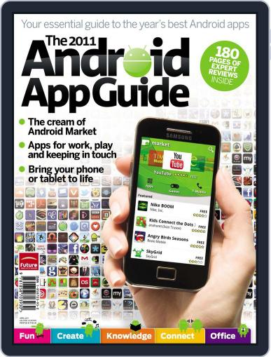 The 2011 Android App Guide Magazine (Digital) June 9th, 2011 Issue Cover
