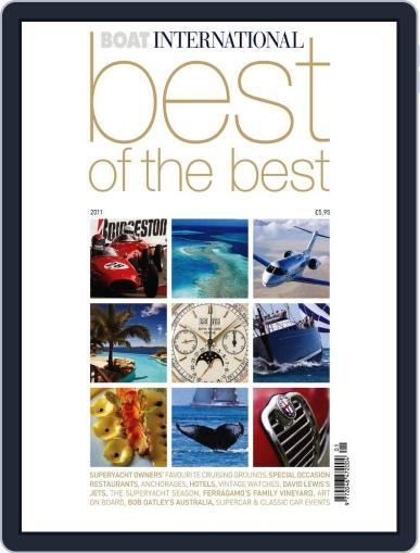Boat International - Best of the Best June 9th, 2011 Digital Back Issue Cover