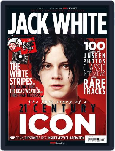 NME Icons: Jack White Magazine (Digital) August 16th, 2011 Issue Cover