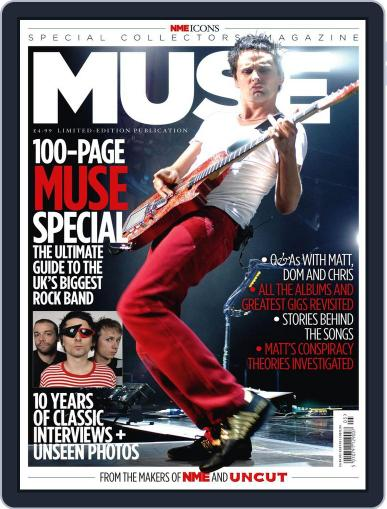NME Icons: Muse August 16th, 2011 Digital Back Issue Cover