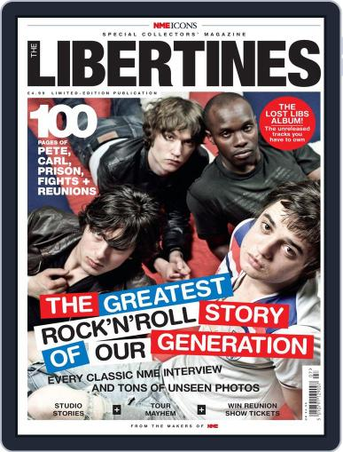 NME Icons: The Libertines August 16th, 2011 Digital Back Issue Cover