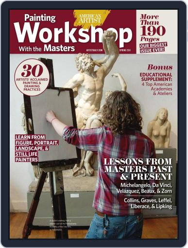 Painting Workshop with the Masters Magazine (Digital) August 5th, 2011 Issue Cover