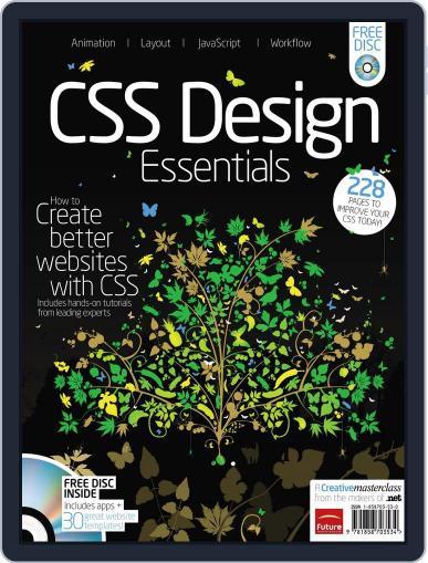 .net CSS Design Essentials September 2nd, 2011 Digital Back Issue Cover
