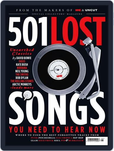 NME Icons 501 Lost Songs May 25th, 2016 Digital Back Issue Cover
