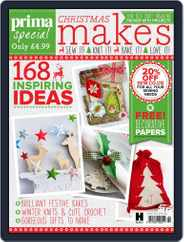 Prima Christmas Makes Magazine (Digital) Subscription September 29th, 2015 Issue