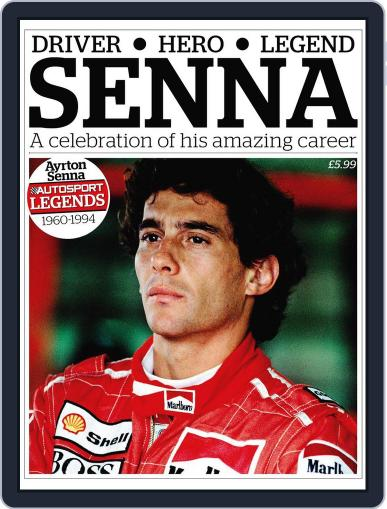Autosport Legends:Ayrton Senna October 12th, 2011 Digital Back Issue Cover
