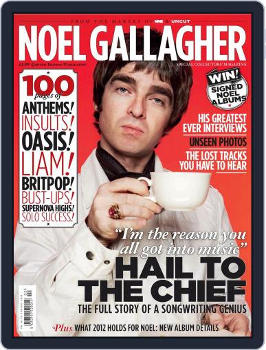 NME Icons: Noel Gallagher Magazine (Digital) February 1st, 2012 Issue Cover