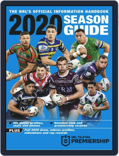 Big League: NRL Season Guide Magazine (Digital) February 18th, 2020 Issue Cover