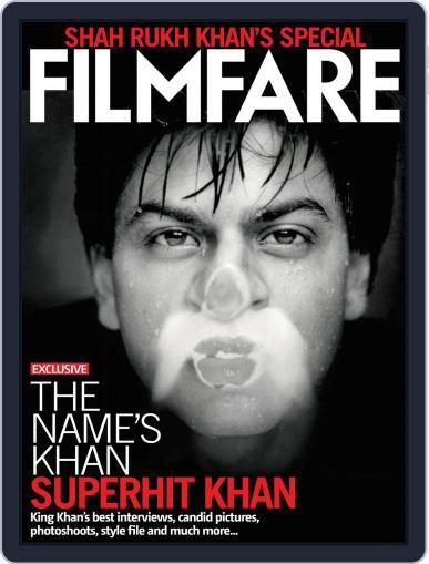 Filmfare - Shah Rukh Khan Special March 13th, 2012 Digital Back Issue Cover