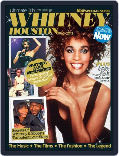 Whitney Houston - Now Special Series February 14th, 2012 Digital Back Issue Cover