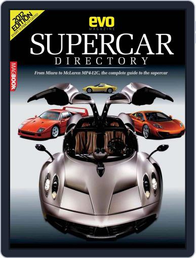 Evo Supercars Directory March 20th, 2012 Digital Back Issue Cover