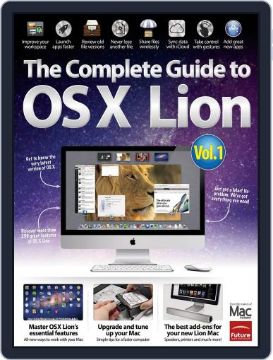 The Complete Guide to Lion - Part 1 Magazine (Digital) April 2nd, 2012 Issue Cover