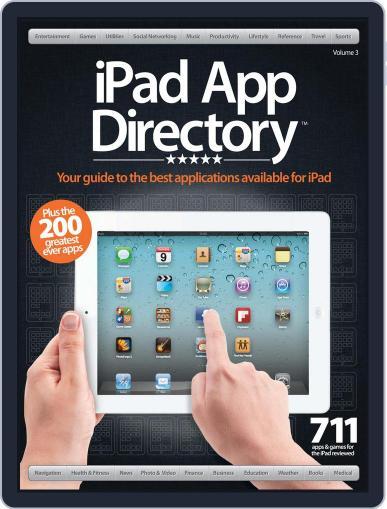 iPad App Directory Vol. 3 April 1st, 2012 Digital Back Issue Cover