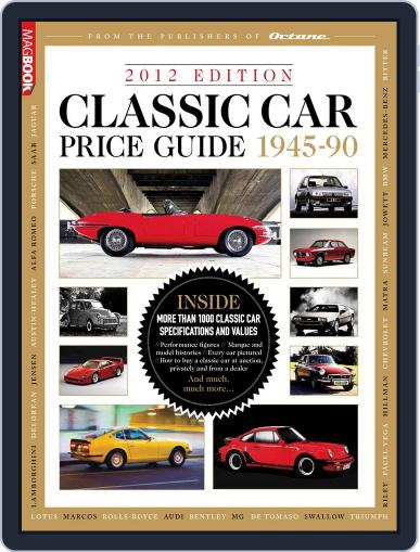 Classic Car Price Guide 2012 Magazine (Digital) April 25th, 2012 Issue Cover