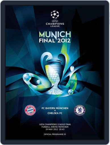 UEFA Champions League Final 2012 May 14th, 2012 Digital Back Issue Cover