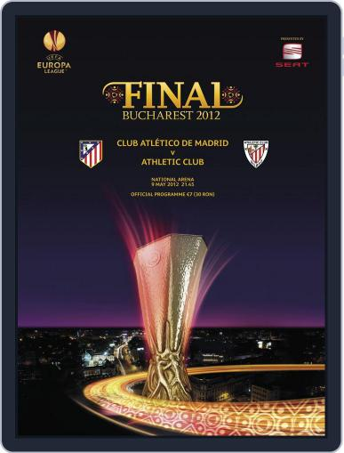 UEFA Europa League Final 2012 Magazine (Digital) May 1st, 2012 Issue Cover