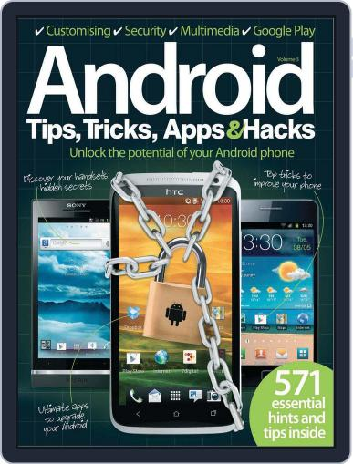 Android Tips, Tricks & Apps Vol 3 May 21st, 2012 Digital Back Issue Cover