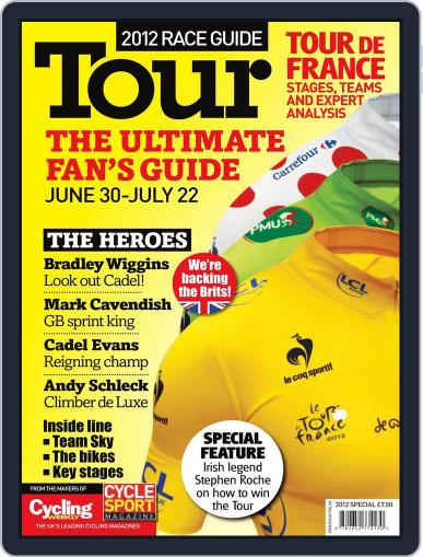 Tour De France 2012 Magazine (Digital) May 31st, 2012 Issue Cover