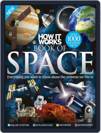 How It Works Book of Space Magazine (Digital) August 1st, 2016 Issue Cover