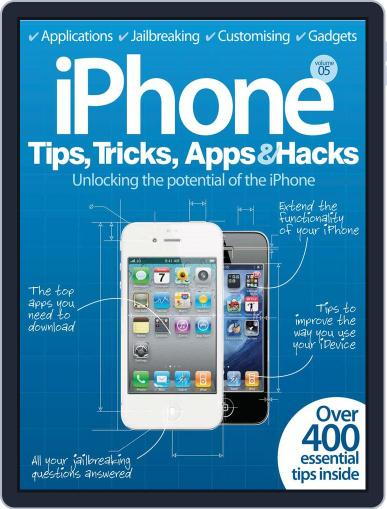 iPhone Tips, Tricks, Apps & Hacks Vol 5 Magazine (Digital) July 4th, 2012 Issue Cover