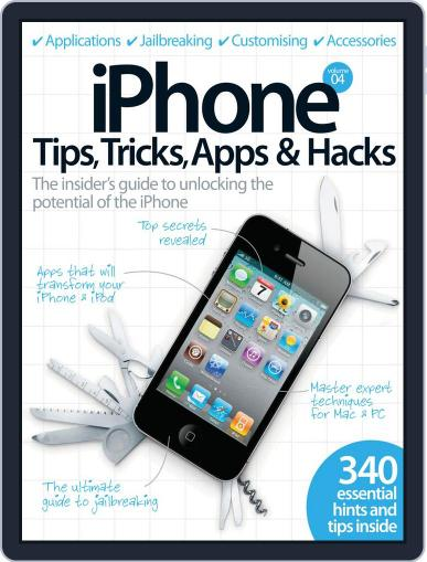 iPhone Tips, Tricks, Apps & Hacks Vol 4 Magazine (Digital) July 6th, 2012 Issue Cover