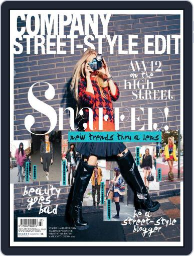 Company Street Style Edit Magazine (Digital) August 30th, 2012 Issue Cover