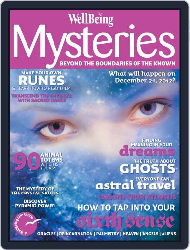 WellBeing Mysteries September 10th, 2012 Digital Back Issue Cover