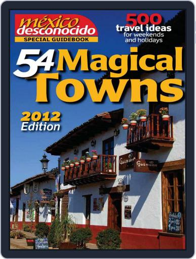Special Guidebook 54 Magical Towns September 13th, 2012 Digital Back Issue Cover