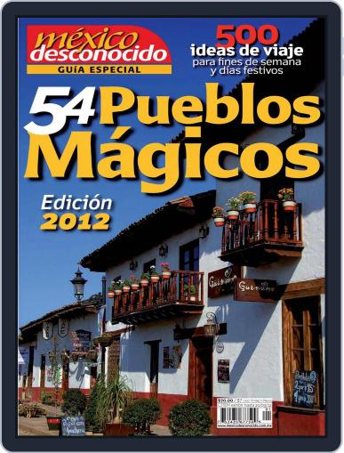 Guía Pueblos Mágicos Magazine (Digital) September 13th, 2012 Issue Cover