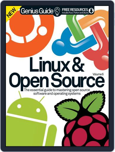 Linux & Open Source Genius Guide December 17th, 2014 Digital Back Issue Cover