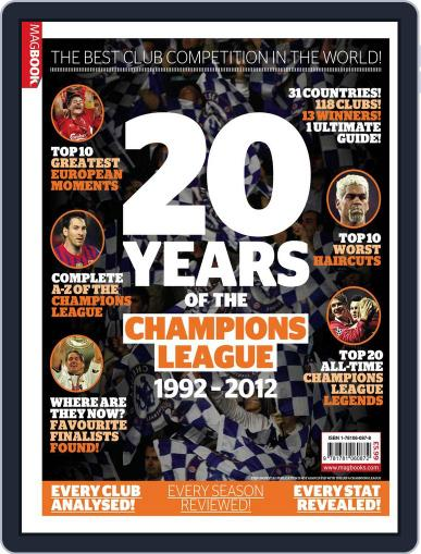 Champions of Europe: 20 years of The Champions League October 10th, 2012 Digital Back Issue Cover