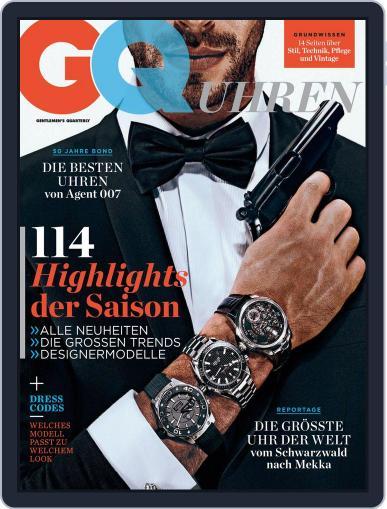 GQ Uhren November 1st, 2012 Digital Back Issue Cover