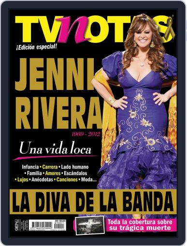 Especial Jenni Rivera la diva de la banda Magazine (Digital) January 11th, 2013 Issue Cover