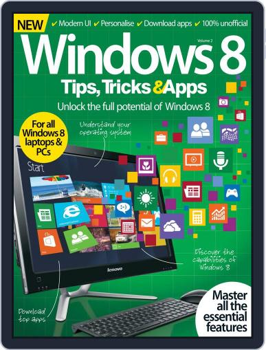 Windows 8 Tips, Tricks & Apps Magazine (Digital) June 24th, 2015 Issue Cover