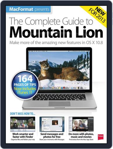 The Complete Guide to Mountain Lion Magazine (Digital) February 1st, 2013 Issue Cover