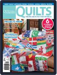 Quilts From Around The World Magazine (Digital) Subscription May 8th, 2013 Issue