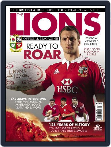 The official Lions magazine 2013 Magazine (Digital) May 28th, 2013 Issue Cover