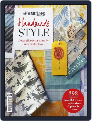 Country Living Bookazine Handmade Style September 11th, 2013 Digital Back Issue Cover