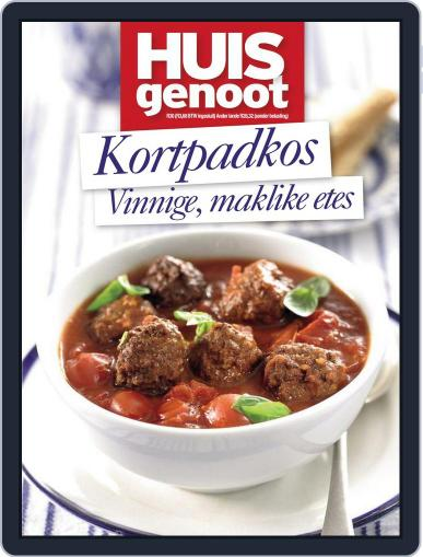Huisgenoot Kortpadkos Magazine (Digital) September 12th, 2013 Issue Cover