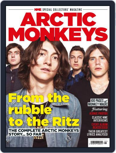 NME Special Collectors' Magazine: Arctic Monkeys Magazine (Digital) September 5th, 2013 Issue Cover