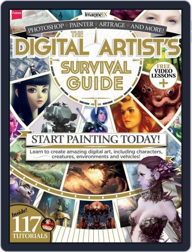 ImagineFX Presents: The Digital Artist's Survival Guide September 13th, 2013 Digital Back Issue Cover