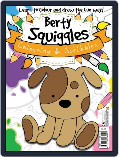 Berty Squiggles Colouring & Scribbles October 2nd, 2013 Digital Back Issue Cover