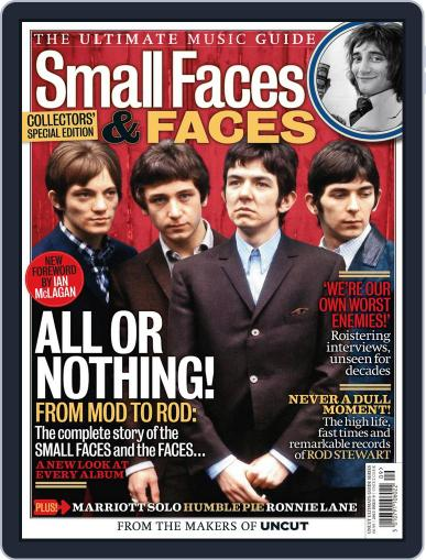 The Small Faces - The Ultimate Music Guide Magazine (Digital) October 3rd, 2013 Issue Cover
