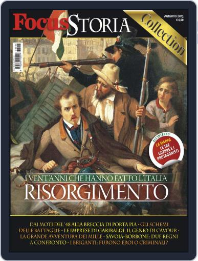 Gli speciali di Focus Storia: Risorgimento October 18th, 2013 Digital Back Issue Cover